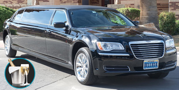 Vegas Airport Limo With Champagne Vip Limo Bell Limousine